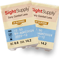 Request your Sight Supply Free Contact Lens Trial