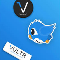 Request your Vultr stickers for free