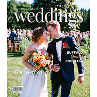 Request your complimentary WNY Weddings magazine