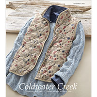 Request your free copy of Coldwater Creek Catalog