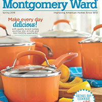 Request your free copy of Montgomery Ward Catalog
