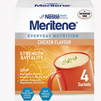 Request your free meritene soup and shakes samples