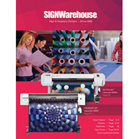 Request your print copy of SIGNWarehouse Catalog