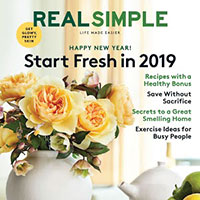 Retrieve your free subscription to Real Simple Magazine
