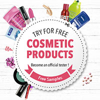 Become an official tester of Samples Avenue to try free cosmetic products