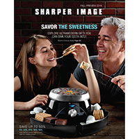 Sign up for a free Sharper Image catalog
