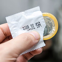 Sign up for a free condom delivery service