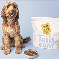 Try 1 month free tailored dog food