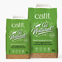 Try Go Natural! Wood Clumping Cat Litter For Free