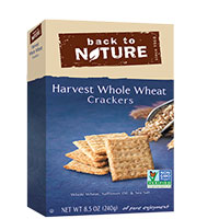Try Out Back to Nature Cookies or Crackers For FREE