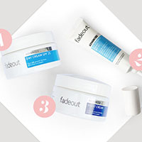 Try Out a FREE Fade out 3-Step regime Skincare Sample