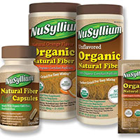 Try a Free Organic Natural Fiber Sample by Nusyllium