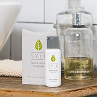 Try a free sample of SYLK Natural Intimate Lubricant