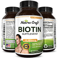 Try out Natures Craft Biotin Supplement For FREE