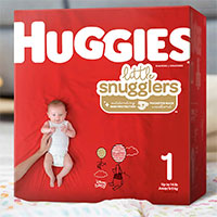 Try out the free diaper sample trial for expecting moms by Huggies