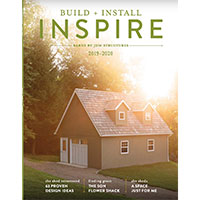 Request your free copy of a Build, Install, Inspire magazine