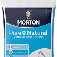 Test your water hardness with a free test strip presented by Morton