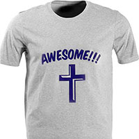 Request your free Awesome T-shirt
